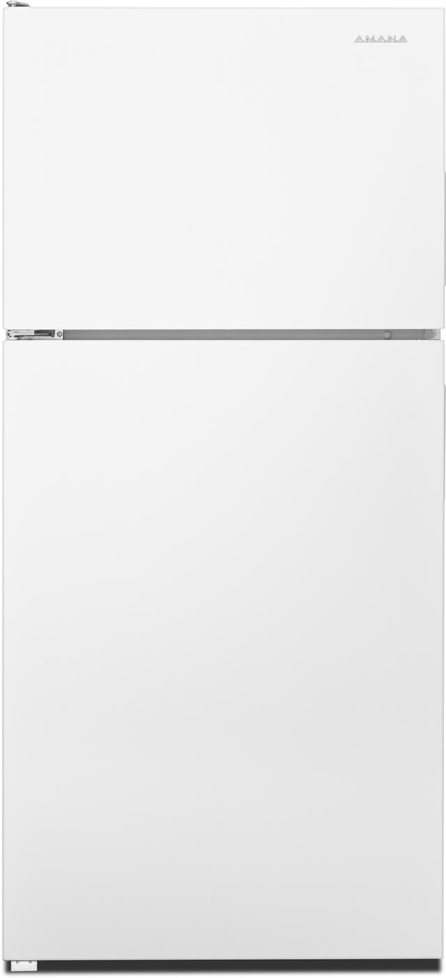 Amana® 18.15 Cu. Ft. White Top Freezer Refrigerator-ART318FFDW