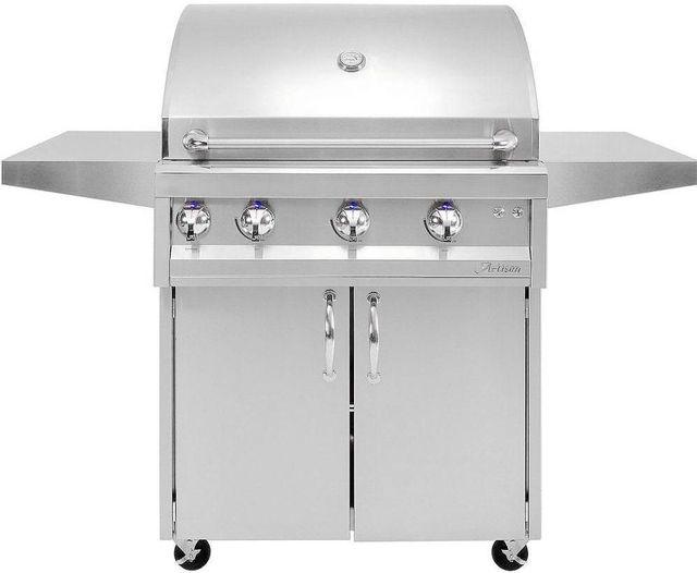 "Artisan Professional Series 36"" Freestanding Grill-Stainless Steel-ARTP-36C"