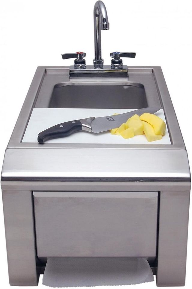 Alfresco™ Prep Hand Wash Sink-Stainless Steel-ASK-T