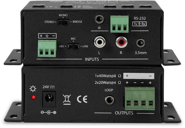 Atlona® Stereo/Mono Audio Amplifier-AT-PA100-G2