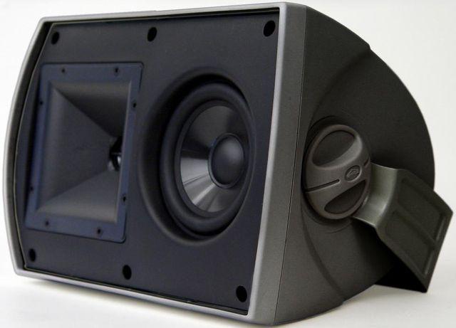 Klipsch® AW-525 Black Outdoor Speakers-1009313