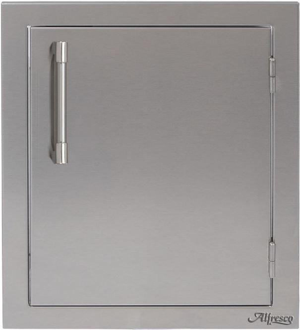 "Alfresco™ ALXE Series 17"" Single Access Right Door-Stainless Steel-AXE-17R"