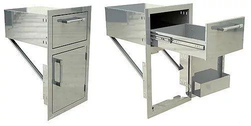 """Alfresco™ 17"""" Door And Towel Holder-Stainless Steel-AXE-DTH-R"""