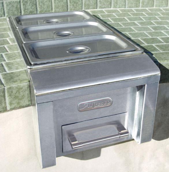 "Alfresco™ 14"" Built-In Food Warmer-Stainless Steel-AXEFW"
