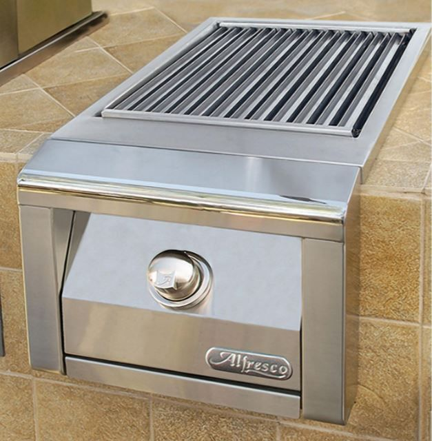 Alfresco™ Sear Zone Side Burner-Stainless Steel-AXESZ-NG