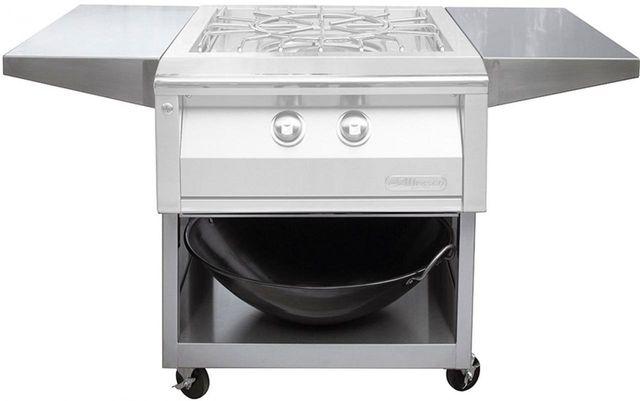 "Alfresco™ 24"" Cart For Versapower Cooker-Stainless Steel-AXEVP-C"