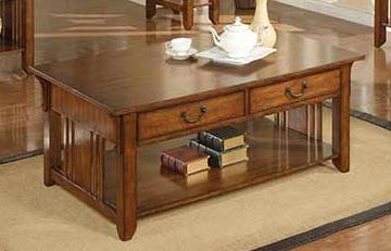 Winners Only® Mission Oak Coffee Table-AZH100C
