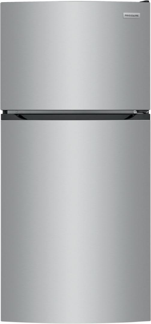Frigidaire® 13.9 Cu. Ft. Brush Steel Top Freezer Refrigerator-FFHT1425VV