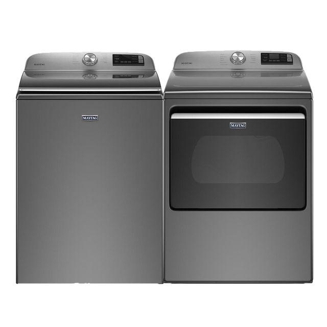 Maytag® Laundry Pair-Metallic Slate-MALAUMED6230HC