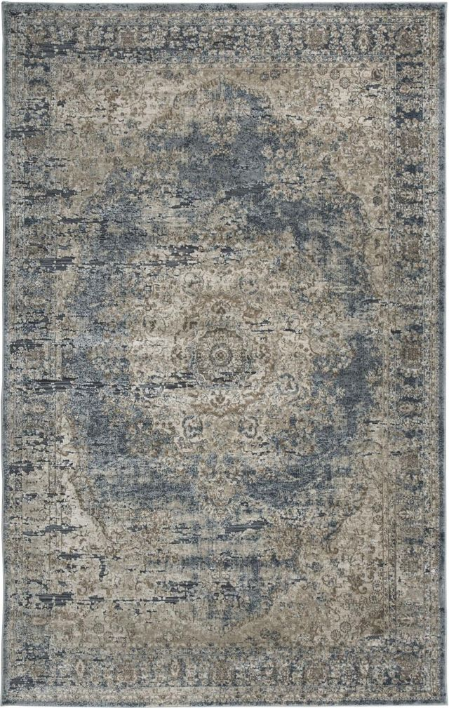 Signature Design by Ashley® South Blue/Tan Large Rug-R402721