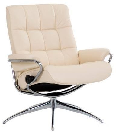 Stressless® by Ekornes® London Low Back Star Base Chair-1339321