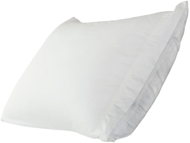 Protect-A-Bed® Naturals White Luxury Adjustable Queen Pillow System-PTEN0170