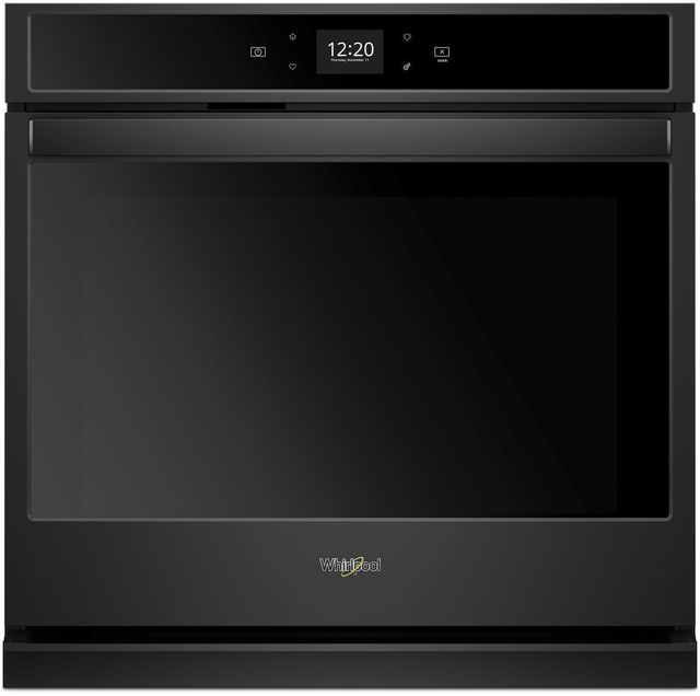 """Whirlpool® 30"""" Electric Single Oven Built In-Black-WOS51EC0HB"""