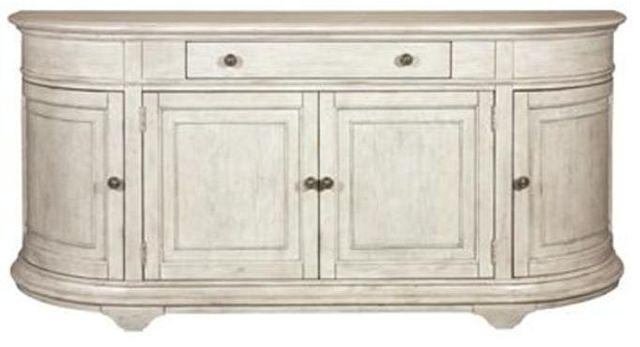 Riveriside Furniture Elizabeth Demilune Buffet-71646