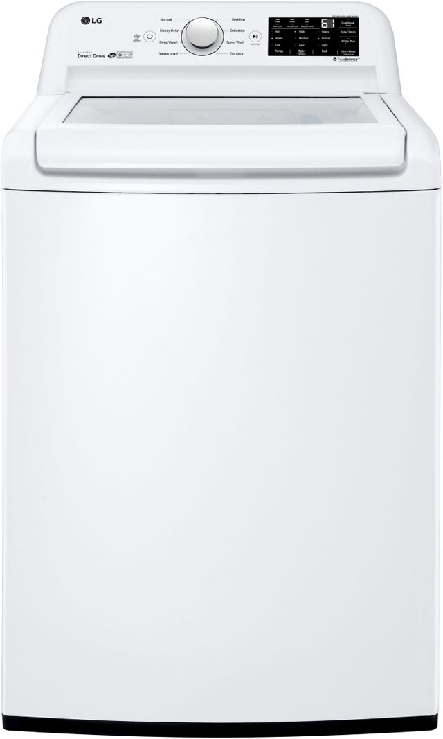 LG 4.5 Cu. Ft. White Top Load Washer-WT7100CW