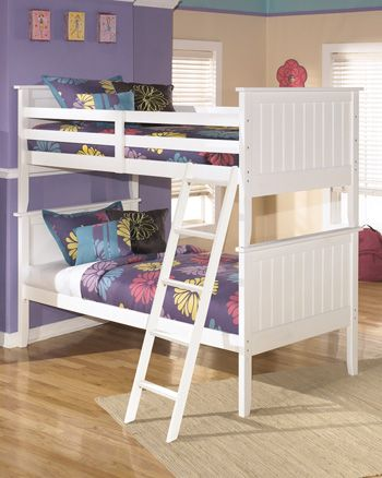 Signature Design by Ashley® Lulu Youth Twin Bunk Bed Rails and Ladder-B102-59R