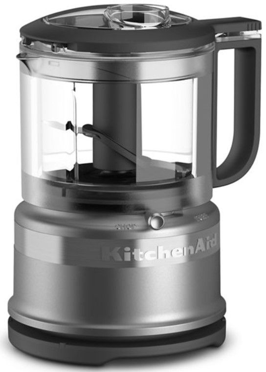 KitchenAid® 3.5 Cup Contour Silver Food Chopper-KFC3516CU