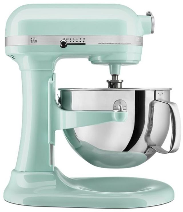 KitchenAid® Professional 600™ Series 6 Quart Ice Stand Mixer-KP26M1XIC