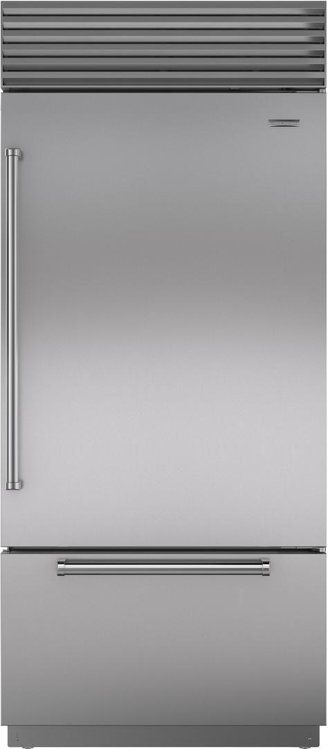 Sub-Zero® 21.7 Cu. Ft.Stainless Steel Bottom Freezer Refrigerator-BI-36UID/S/PH-RH