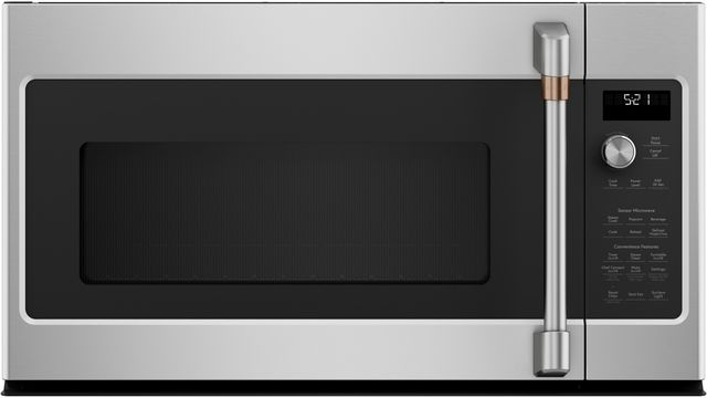 Café™ 2.1 Cu. Ft. Stainless Steel Over The Range Microwave Oven-CVM521P2MS1