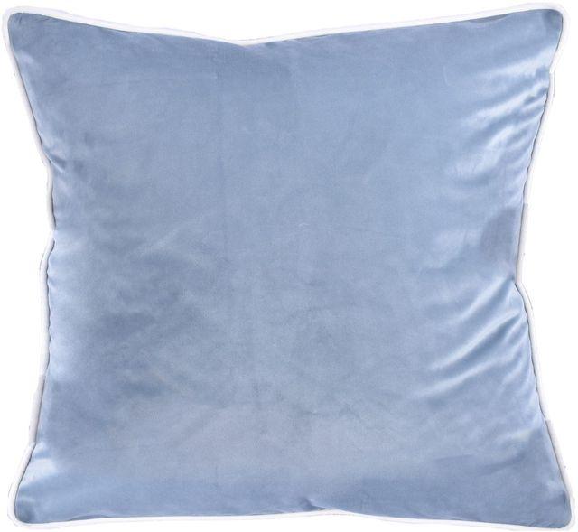Coussin décoratif Taza, bleu pâle, Renwil®-PWFL1270