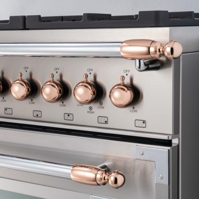 Bertazzoni Collezione Metalli Copper Décor Set-DS1HERTPC
