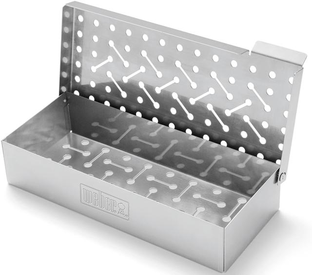 Weber® Stainless Steel Smoker Box-7576