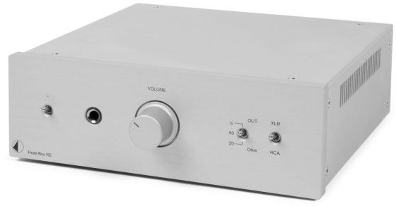 Pro-Ject RS Line Silver High-End Headphone Amplifier-Head Box RS-SV