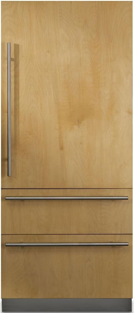 Viking® Professional 7 Series 20 Cu. Ft. Custom Panel Fully Integrated Bottom Freezer Refrigerator-FBI7360WR