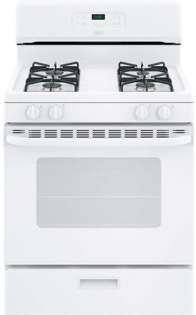 "Crosley® 30"" White Free Standing Gas Range-XGBS400DMWW"