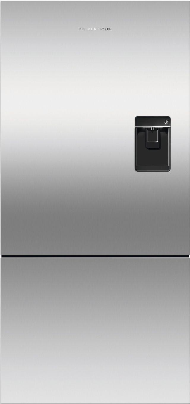 Réfrigérateur à congélateur inférieur à profondeur de comptoir de 32 po Fisher Paykel® de 17,5 pi³ - Acier inoxydable-RF170BRPUX6 N