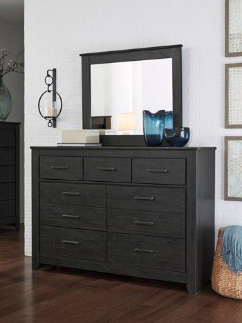Signature Design by Ashley® Brinxton Charcoal Mirror-B249-36
