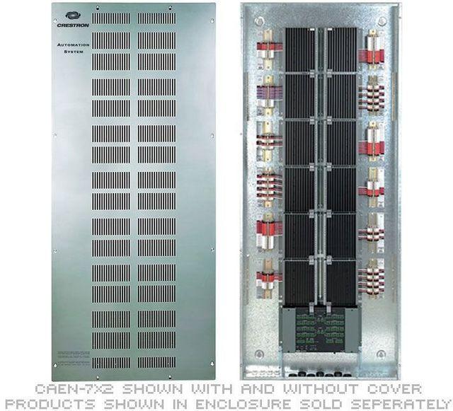 Crestron® Automation 4 Modules High x 2 Modules Wide Enclosure-CAEN-4X2