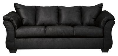 Signature Design by Ashley® Darcy Black Full Sofa Sleeper-7500836