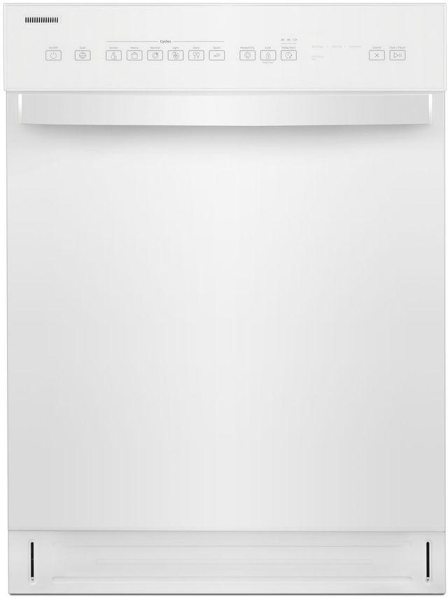 "Whirlpool® 24"" White Built In Dishwasher-WDF550SAHW"