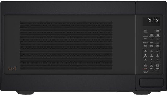 Café™ 1.5 Cu. Ft. Matte Black Countertop Microwave-CEB515P3NDS