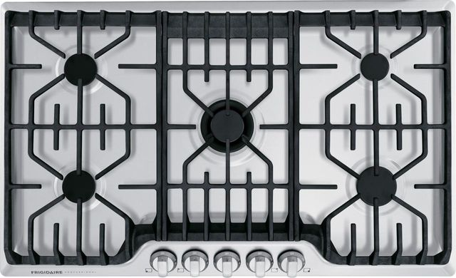 Frigidaire Professional® 36'' Stainless Steel Gas Cooktop-FPGC3677RS