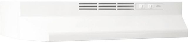 "Broan® 41000 Series 21"" White Ductless Under Cabinet Range Hood-412101"