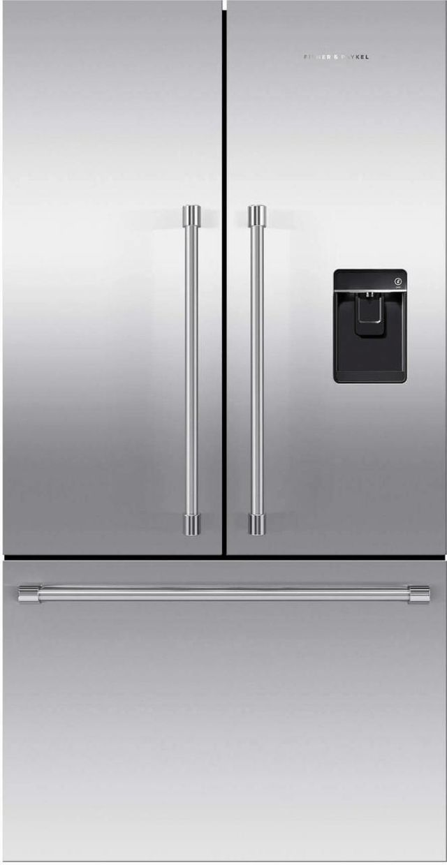 Fisher & Paykel Series 7 20.1 Cu. Ft. Stainless Steel French Door Refrigerator-RF201ACUSX1 N
