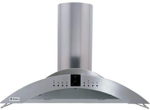 """Monogram® 36"""" Wall-Mounted Vent Hood with 4 Halogen Lamps-ZV755SPSS"""
