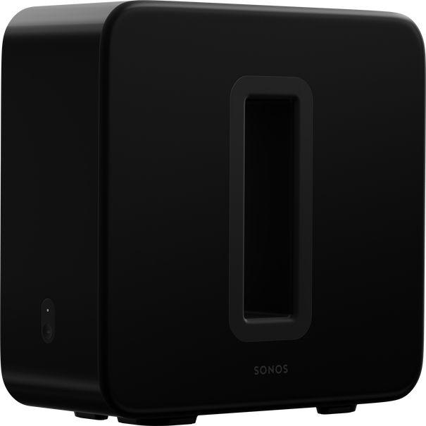 Sonos Black Sub Gen 3 Subwoofer-SUB3-BLK