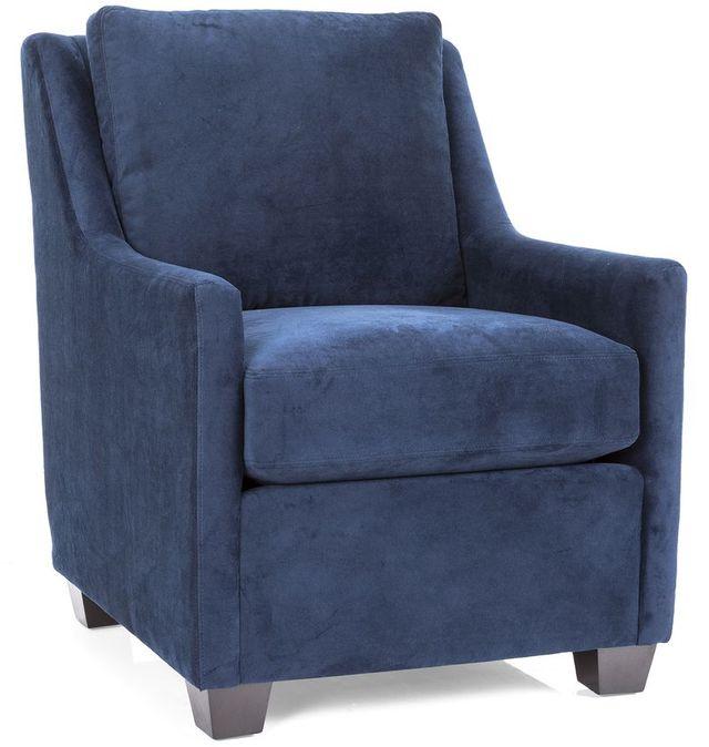 Decor-Rest® Furniture LTD 2626 Blue Accent Chair-2626-BLUE-CHAIR