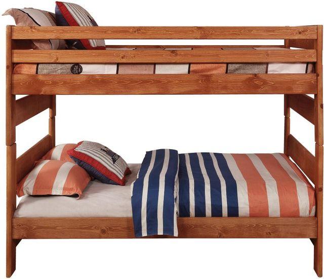 Coaster® Wrangle Hill Amber WashFull/Full Bunk Bed-460096
