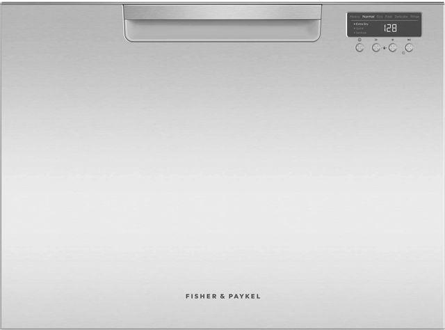 """Fisher & Paykel DishDrawer™ 24"""" Single Dishwasher-EZKleen Stainless Steel-DD24SCHTX9 N"""