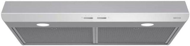 """Broan® Sahale BKSH1 Series 30"""" Under Cabinet Range Hood-Stainless Steel-BKSH130SS"""