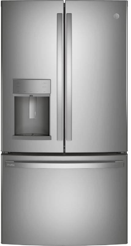 GE Profile™ 22.1 Cu. Ft. Counter Depth French Door Refrigerator-PYD22KYNFS
