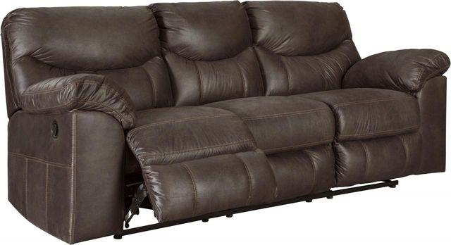 Signature Design by Ashley® Boxberg Teak Reclining Sofa-3380388