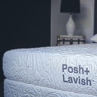Posh+Lavish™ Relax Medium Firm Latex California King Mattress-MATRLX-60-009