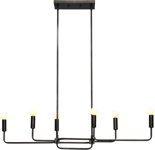 Renwil® Florence I Graphite Chandelier-LPC4136