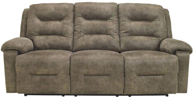 Signature Design by Ashley® Rotation Smoke Reclining Sofa-9750188